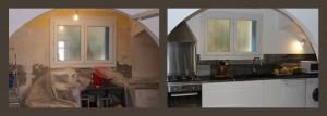 Rénovation d'une cuisine à Bages (Aude)